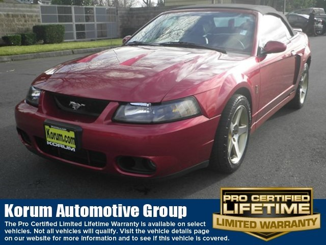 Photo Used 2003 Ford Mustang Cobra Convertible V8 DOHC 32V Supercharged for Sale in Puyallup near Tacoma