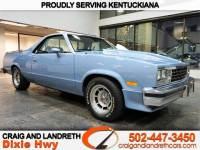 1984 Chevrolet El Camino 2dr Pickup SS