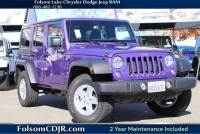 2018 Jeep Wrangler JK Unlimited Sport 4x4 SUV - Certified Used Car Dealer Serving Sacramento, Roseville, Rocklin & Citrus Heights CA