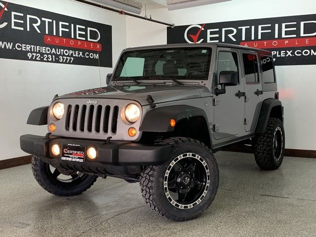 Photo 2016 Jeep Wrangler Unlimited UNLIMITED SPORT HARD TOP LIFT PACKAGE 20 WHEELS AND MUD TIRES 4W