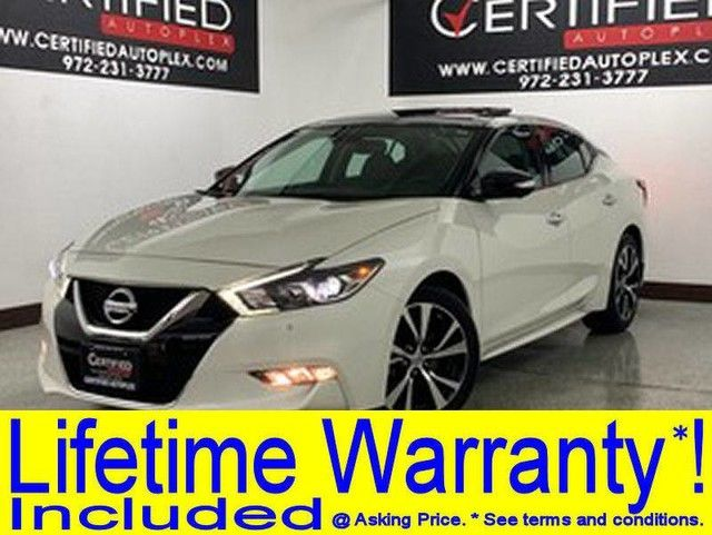 Photo 2018 Nissan Maxima PLATINUM PANORAMIC ROOF SURROUND VIEW CAMERA PARK ASSIST BLIND SPOT ASSIST