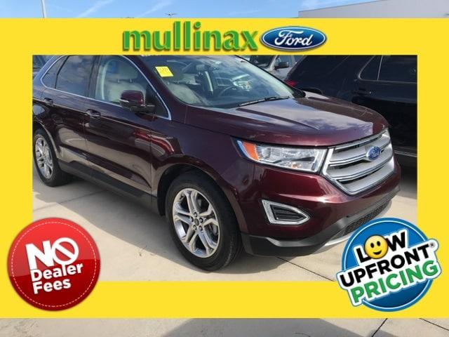 Photo Used 2018 Ford Edge Titanium Turbo W 19 Wheels, HD Radio, Reverse Sen SUV I-4 cyl in Kissimmee, FL