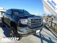 Pre-Owned 2017 GMC Sierra 1500 SLT Black Widow Lifted Truck 4WD