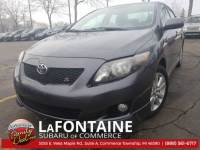Used 2009 Toyota Corolla S Sedan For Sale Farmington Hills, MI
