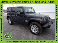 2017 Jeep Wrangler JK Unlimited Sport 4x4 SUV For Sale in Madison, WI