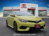2016 Scion iM Hatchback Front-wheel Drive