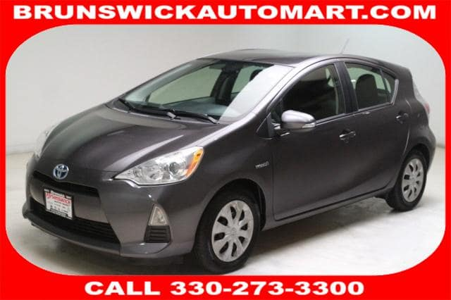 Photo Certified Used 2013 Toyota Prius c Three in Brunswick, OH, near Cleveland