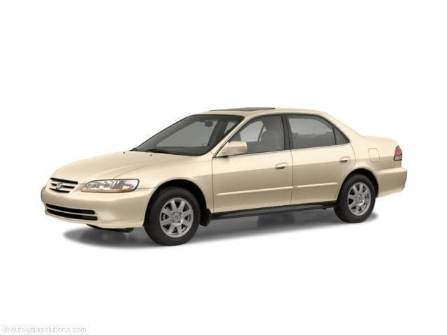 Photo 2002 Honda Accord EX Sedan FWD For Sale at Bay Area Used Car Dealer near SF