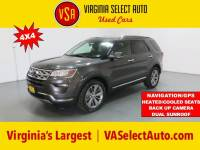 Used 2018 Ford Explorer Limited SUV for sale in Amherst, VA