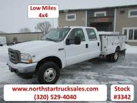 Used 2002 Ford F-350 4x4 Service Utility Truck