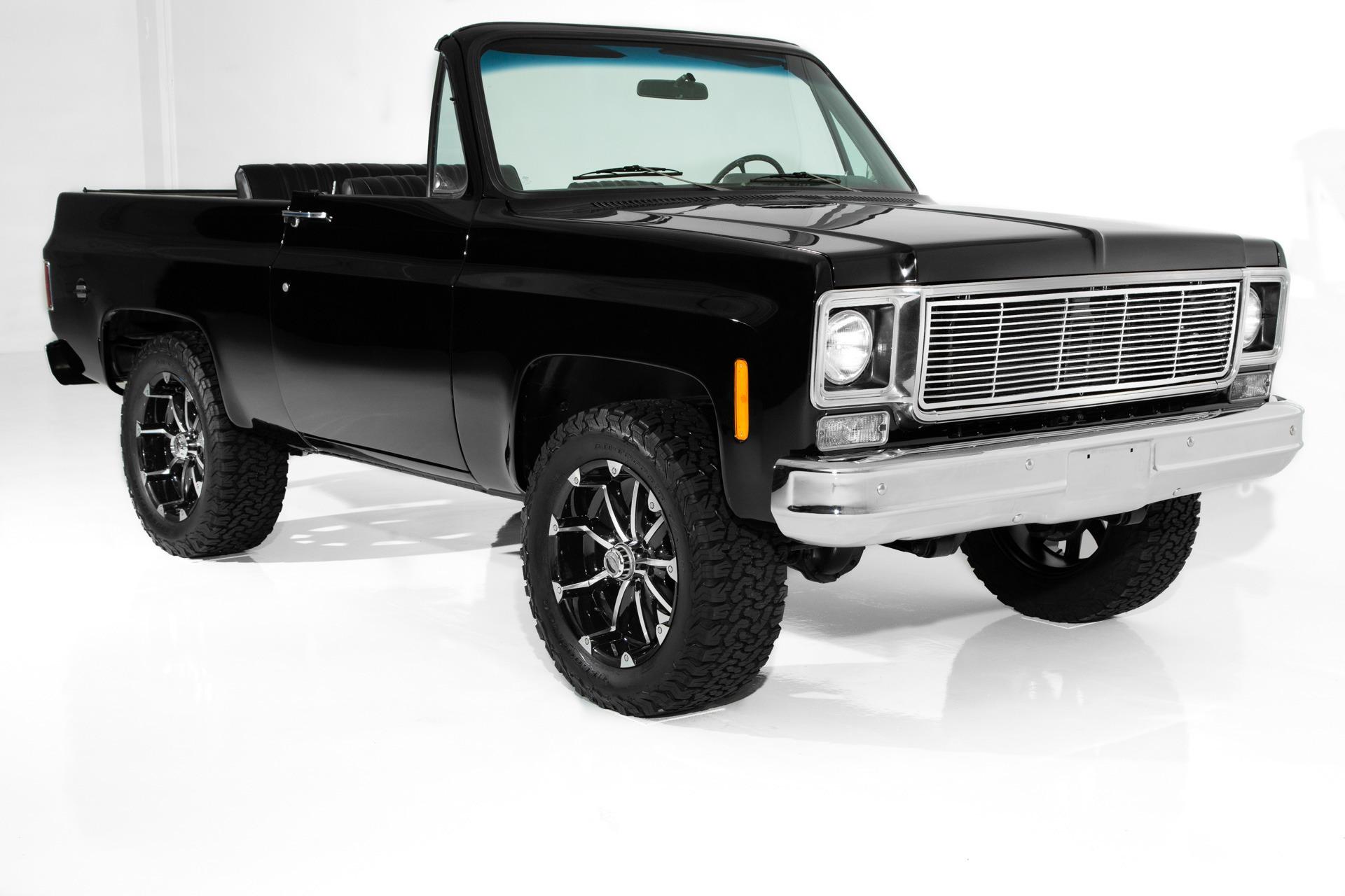 Photo 1975 Chevrolet Blazer Black K5 Auto 4X4 20s