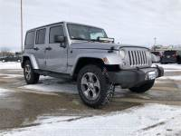 2017 Jeep Wrangler JK Unlimited Sahara 4x4 SUV For Sale in Madison, WI