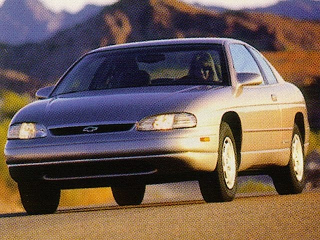 Photo Used 1998 Chevrolet Monte Carlo LS for sale near Detroit