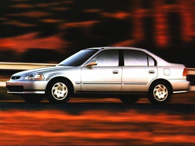 Photo Used 1996 Honda Civic EX Sedan For Sale Fort Collins, CO