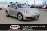 2015 Volkswagen Beetle Convertible 1.8T w/Tech 2dr Auto *Ltd Avail* Convertible in Houston