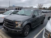 Used 2016 Ford F-150 4WD SuperCrew 145 Lariat Pickup
