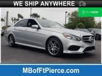 Certified 2016 Mercedes-Benz E-Class E 350 Sedan in Jacksonville FL