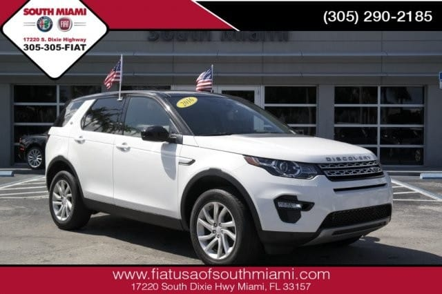 Photo Used 2016 Land Rover Discovery Sport HSE SUV in Miami