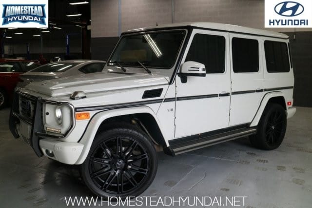 Photo Used 2013 Mercedes-Benz G-Class 4MATIC 4dr G 550 SUV in Miami