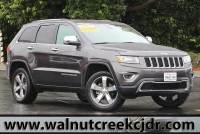 Certified Used 2015 Jeep Grand Cherokee Limited Sport Utility 4D SUV in Walnut Creek
