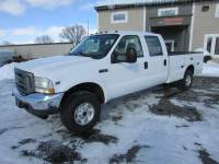 Used 2004 Ford F-350 4x4 Crew Cab Service Utility Truck