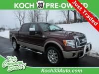 Pre-Owned 2010 Ford F-150 King Ranch 4D SuperCrew 4WD