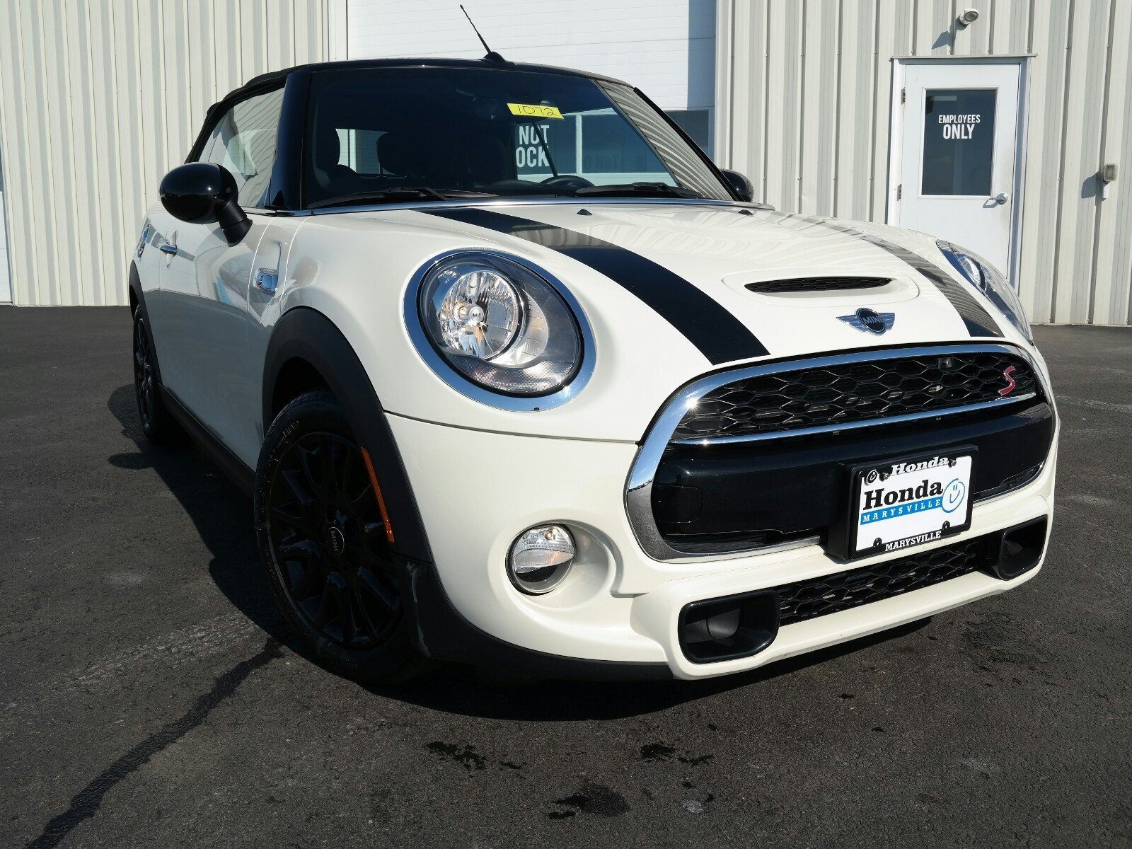Photo Used 2017 MINI Convertible Cooper S Convertible Convertible