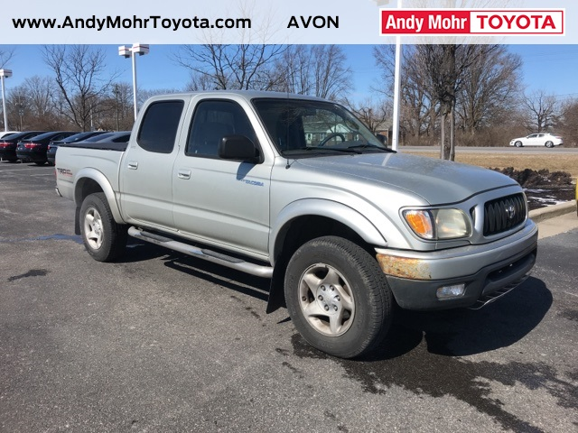 Photo Pre-Owned 2003 Toyota Tacoma OFF ROAD 4WD 4D Double Cab