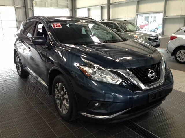 Photo 2015 Nissan Murano NISSAN CERTIFIED NAVIGATION ALL WHEEL DRIVE SUV