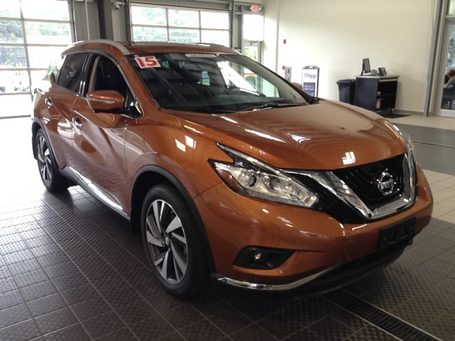 Photo 2015 Nissan Murano NISSAN CERTIFIED NAVIGATION LEATHER ALL WHEEL DRIV SUV