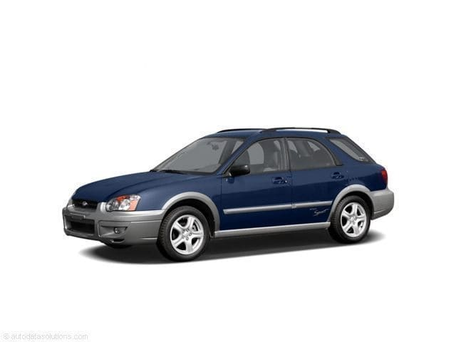 Photo Used 2005 Subaru Impreza Outback Sport For Sale at Moon Auto Group  VIN JF1GG68555H804628