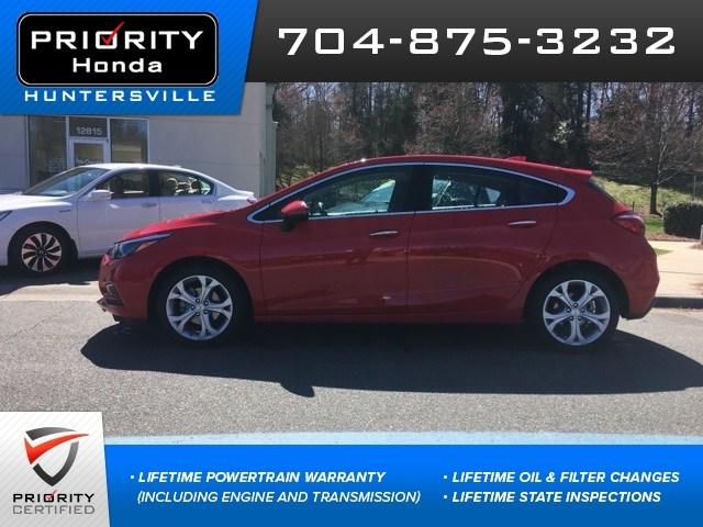 Photo Used 2018 Chevrolet Cruze For Sale in Huntersville NC  Serving Charlotte, Concord NC  Cornelius. VIN 3G1BF6SM8JS647923