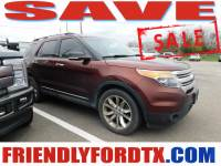 Used 2015 Ford Explorer XLT SUV 6-Cylinder SMPI DOHC for Sale in Crosby near Houston