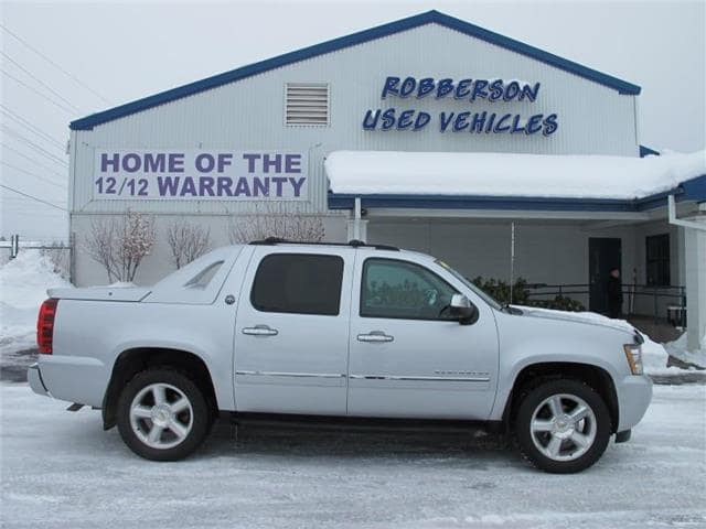 Photo Used 2013 Chevrolet Avalanche LTZ Black Diamond 4x4 Crew Cab Short Bed Truck For Sale Bend, OR
