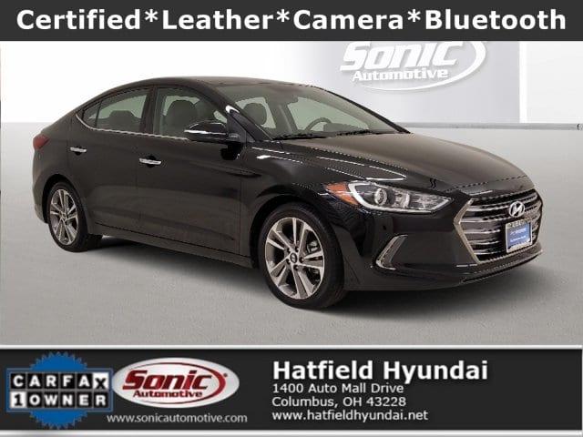 Photo 2017 Hyundai Elantra Limited Sedan in Columbus