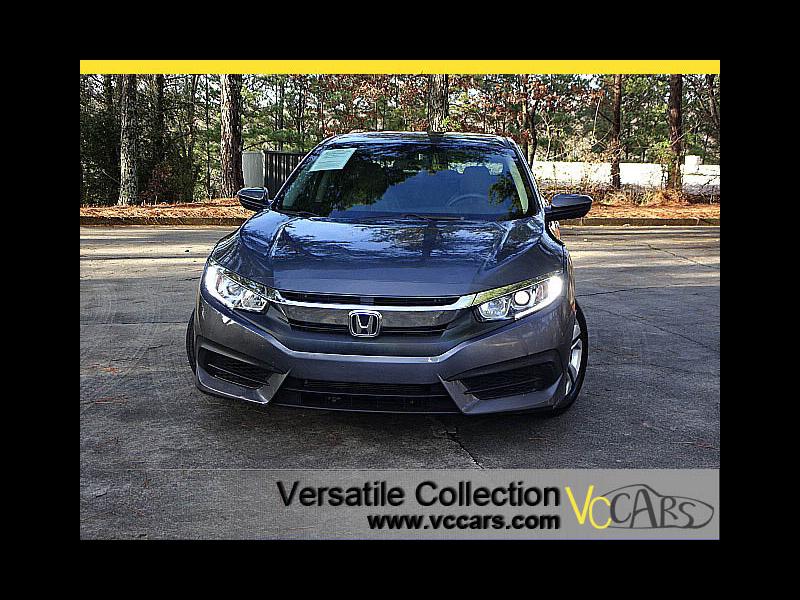 Photo 2016 Honda Civic Sedan LX 6 Speed Manual Back Up Camera BT