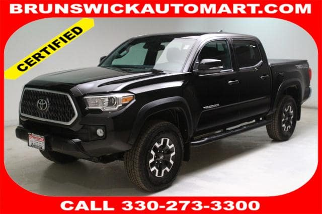 Photo Certified Used 2019 Toyota Tacoma TRD Off Road V6 in Brunswick, OH, near Cleveland