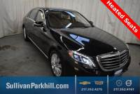 Certified Pre-Owned 2015 Mercedes-Benz S-Class S 550 4MATIC® 4MATIC® 4D Sedan 44798 miles