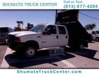 1999 Ford F-550 Crew Cab 9 FT. Dump 7.3 Diesel