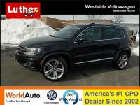 2016 Volkswagen Tiguan 2.0T R-Line Automatic with 4MOTION SUV