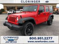 Used 2018 Jeep Wrangler JK Unlimited For Sale Hickory, NC | Gastonia | SS497