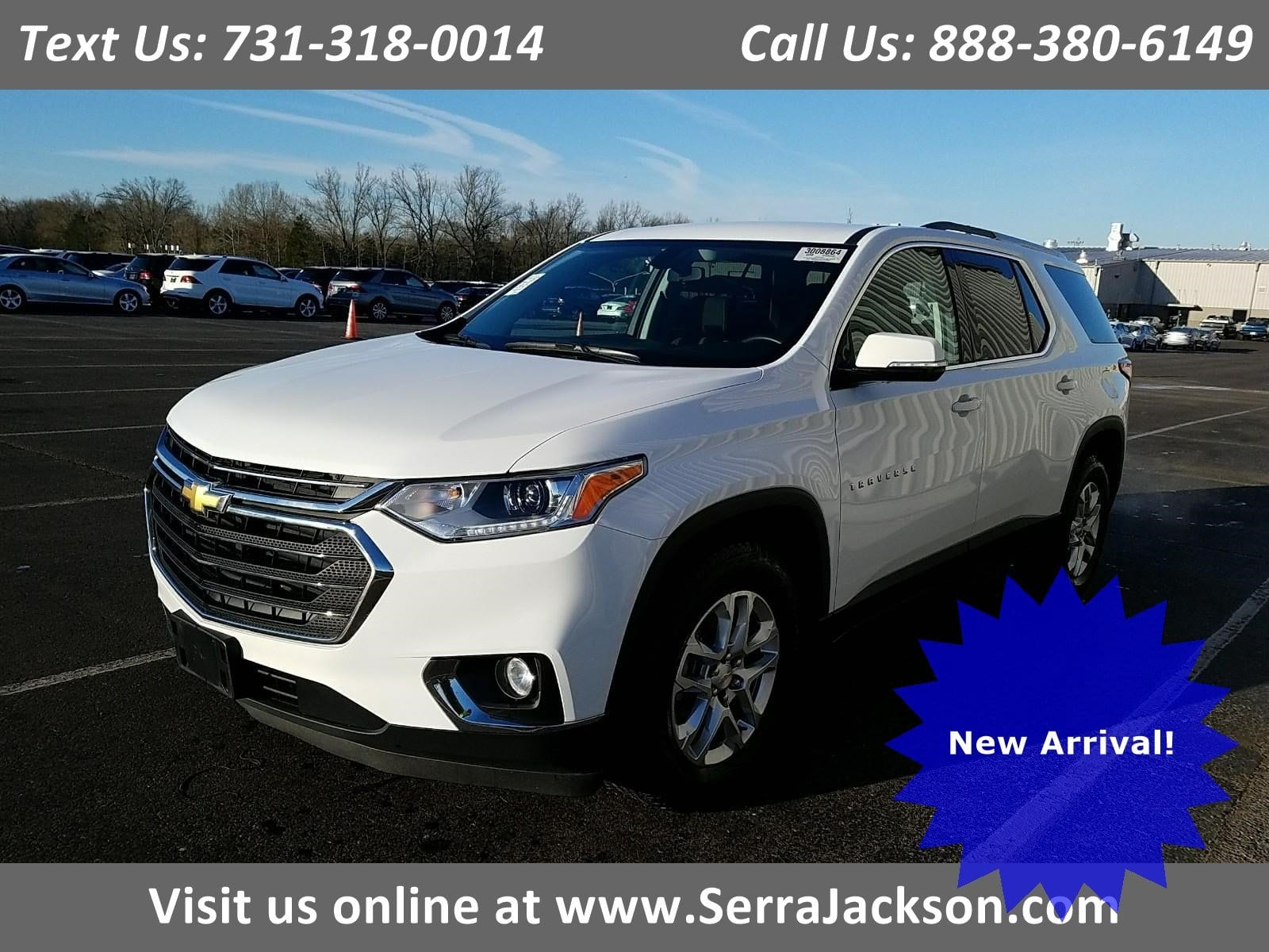 Photo Certified Pre-Owned 2018 Chevrolet Traverse LT Cloth in Jackson, TN
