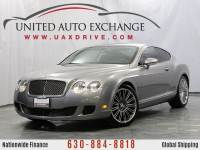 2008 Bentley Continental GT Speed Coupe AWD w/ Bi-xenon Headlamps, Navigation, Bluetooth, Front & Rear Parking Aid with Rear View Camera