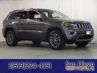 Certified 2017 Jeep Grand Cherokee Limited 4x4 SUV in San Diego