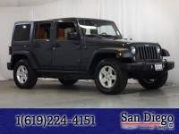 Certified 2016 Jeep Wrangler JK Unlimited Sport 4X4 SUV in San Diego
