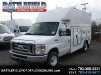 2019 Ford E-Series Cutaway Commercial Cutaway w/ 12' Enclosed Service Body