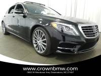 Pre-Owned 2015 Mercedes-Benz S-Class S 550 in Greensboro NC