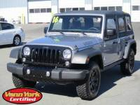 Used 2016 Jeep Wrangler Unlimited Willys Wheeler SUV For Sale in High-Point, NC near Greensboro and Winston Salem, NC