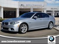 Pre-Owned 2016 BMW 5 Series 535d Rear Wheel Drive Cars