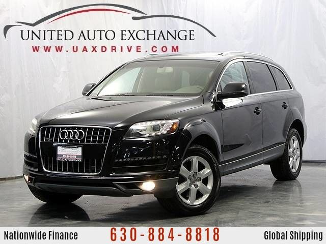 Photo 2013 Audi Q7 3.0T Premium Plus Quattro AWD w Navigation, HD Radio, Bluetooth, Bose Surround Sound System, Panoramic Sunroof  Front and Rear Parking Aid with Rear View Camera